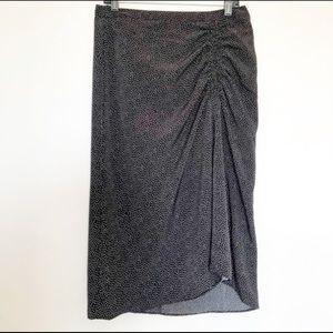 Banana Republic Fit & Flare Midi Skirt
